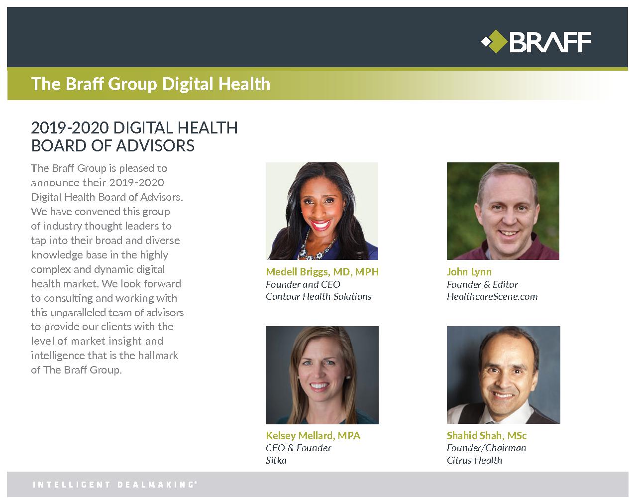 Digital Health Board of Advisors